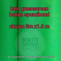 Kain greenscreen bahan spunbond 3x1.6m
