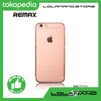 Remax Crystal Series TPU Protective Softcase for iPhone