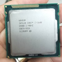 processor i7 2600 tray + fan ori 1155
