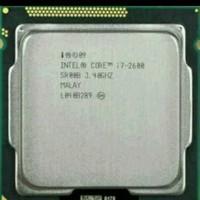 processor core i7 2600 +fan ori 1155
