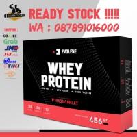 Evolene Whey Protein 450 Gram Gr 450 Gram 450Gr BPOM 12 sachet