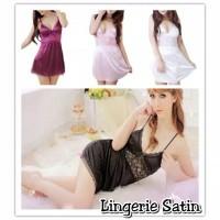 LINGERIE SATIN GRATIS GSTRING