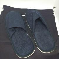 sandal anti dingin rumah hotel maskapai bahan tebal