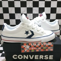 dee2b092a2c0ce Sepatu Converse Star Player Cvs Ox Women White Original