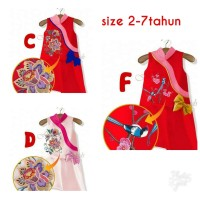 DRESS ANAK IMPORT | DRESS CHEONGSAM ANAK