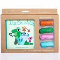 The Brushies - baby and toddler toothbrush and storybook gift set