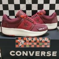 fd14fae1abbc51 Sepatu Converse Run Star The Rundown Women DkBurgundy