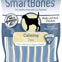 SmartBones Calming Care Chicken Chews Dog Treats, 16 pack