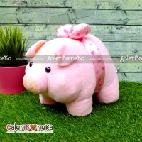 Boneka Babi Piggy Pita Cute Ukuran Medium ( HK - 622538 )