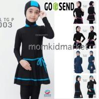 Baju Renang Anak SD Muslim Muslimah Ukuran M, L dan XL ML-TG-P-008