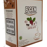 B'gen Minuman Coffe Collagen Low Fat & Low Kalori