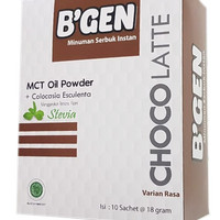 Bgen Choco With Stevia & Collagen Memelihara Kecantikan Luar Dalam
