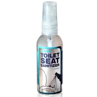 Q-San Toilet Seat Sanitizer / Pembersih toilet / Toilet spray