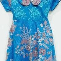 BEST SELLER DRESS / TERUSAN / BAJU BATIK ANAK PEREMPUAN 1376 - 2-3