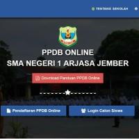 Software Aplikasi PPDB Online Berbasis Web - SMA