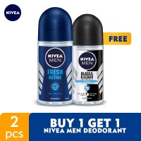 BUY 1 GET 1 NIVEA MEN Deodorant