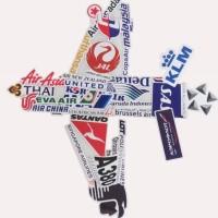 New 50 Pcs Stiker Sticker Koper Rimowa Tas Laptop Travel Airline Logo