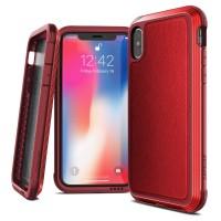Harga iphone xr 6 1 case x doria soft shell defense lux red | Pembandingharga.com