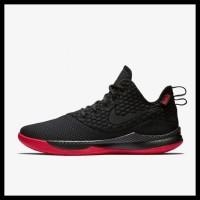 86d706580dd HOT SALE Sepatu Basket Nike Lebron Witness 3 Black Red Original