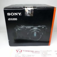 SONY A-6300 KIT 16-50mm OSS Resmi SONY INDONESIA Limited