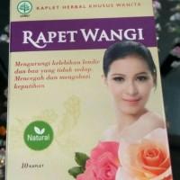 manjakani/kaplet herbal khusus wanita/rapet wangi