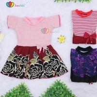Best Seller Pakaian Anak & Bayi 007 Dress Zaskia Size 1-2 Tahun /