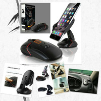 Car Holder MOUSE Universal for Smartphone - One Touch Car Holder - Hit