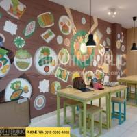 Meja Kursi Makan Resto Cafe Untuk UKM