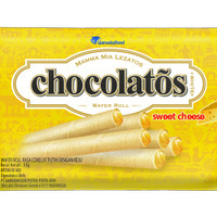 CHOCOLATOS WHITE Sweet Cheese- 33gr (WJU5)
