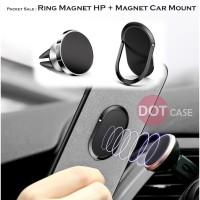 Packet Ring Magnet Hp GPS + Magnet Car Mount Holder AC Air Vent