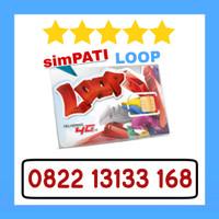 Kartu Perdana Nomor Cantik Telkomsel Simpati Loop 4G 0822 13133 168