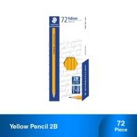 Staedtler Yellow Pencil 2B - 72pcs