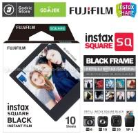 Fujifilm Refill Instax Square SQ10 SQ6 SQ20 S-P3 Black Frame 10 Lembar