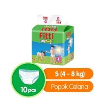 Popok Bayi Fitti DayPants Mega Pack S10 M56 L48 XL44 - All