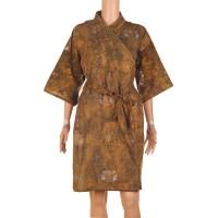 Kimono Batik Motif Abstrak Bisa Seragam
