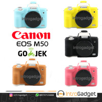 Silicone CANON M50 M 50 M-50 Silicon Rubber Case Karet