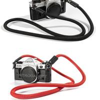 Strap Kamera Camera Neck Strap Mountaineering Nylon Rope Merah