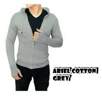 ARIEL RAJUT COTTON GREY