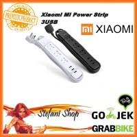 Stop Kontak Xiaomi Mi Smart Power Strip Colokan Adapter 3 USB Port