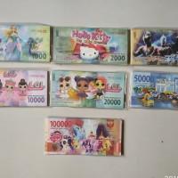 uang mainan anak anak karakter