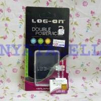 PROMO Baterai Log on Xiaomi Yi Action Camera - Batre Double Power Or