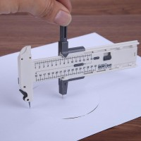 Circle Compass Rotary Cutter Alat Potong Lingkaran Bulat Kertas *AK07