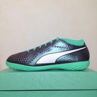 Sepatu Futsal Puma One 4 IL Syn Col Shift Green 104933-01 Original 828c1dbb49