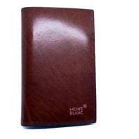 Dompet kulit pria tanggung import Mont Blancc DT102-6501 brown