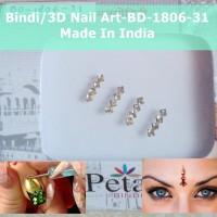 Bindi-BD-1806-31-Stiker Body Art-Hiasan Dahi Kuku-3D Nail Art-India