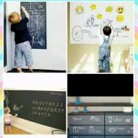 Blackboard/Whiteboard Stiker Wallpaper Wallstiker