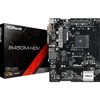 Motherboard ASRock B450M HDV [ AMD AM4 Socket ]