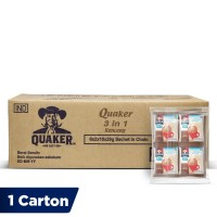 Quaker 3 in 1 Chocolate Renceng - 120 Sachets [1 Carton]