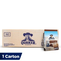 Quaker 3 in 1 Chocolate Polybag 7s [1 Carton - 12 Pcs]