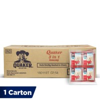 Quaker 3 in 1 Original Renceng - 120 Sachets [1 Carton]